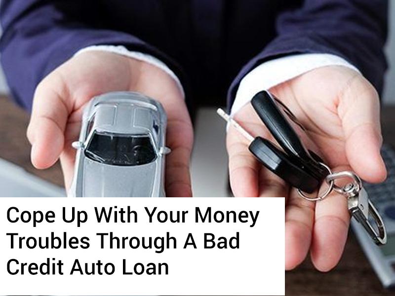 bad credit auto loan